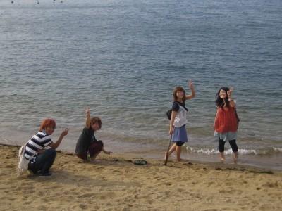 関西自動車学院の魅力は、何と言っても海が近いこと! 瀬戸内海まで歩いていける距離です!気分転換に行ってみよう♪