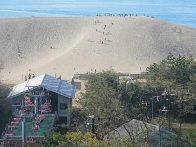 鳥取といえばやはり砂丘となります!合宿期間中にぜひ一度は行ってみてください!