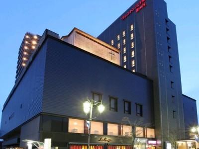 いわき駅のすぐそばの綺麗なホテル♪快適にお過ごしいただけます。