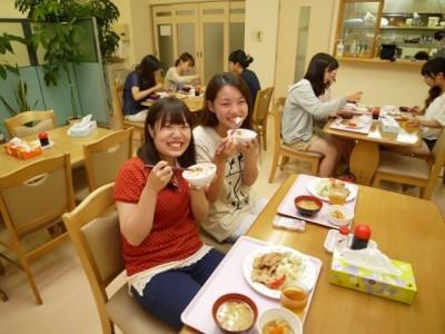 食事風景♪