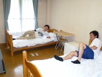 男性専用の宿舎です。どの宿舎も過ごしやすさは抜群!