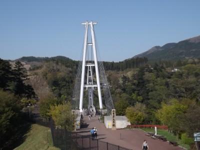 長さ日本一の大吊橋