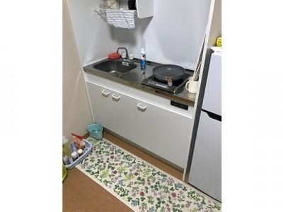 自炊設備も整っています。