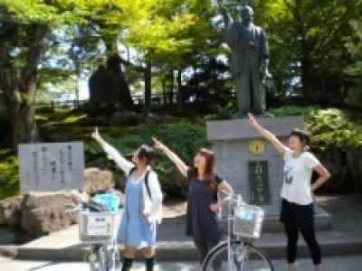 上杉氏の城下町として有名な米沢市。観光名所もたくさんあります♪マツキドライビングスクール米沢松岬校のレンタサイクルを利用して、名所めぐりはいかがでしょうか。