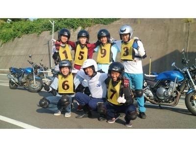 バイク教習も人気です!