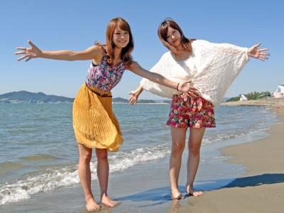 空き時間には海にも遊びに行けちゃいます!潮風を感じながらリラックスしに行くのもいいですね♪