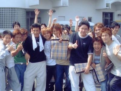 ご入校された方全員にバーバリーチェックの教習バッグをプレゼントしています。
