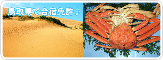 鳥取県で合宿免許