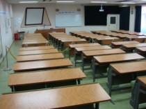 教室の風景。学科の授業はここでしっかり頑張りましょう♪自習室もあるので、空き時間に復習もしっかりできますよ!