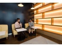 食堂でのランチタイム。友達皆で楽しくおしゃべりしながら食べるご飯はとっても美味しいですよ♪ 教習の間は3階のカフェで休憩♪スイーツもありますよ!
