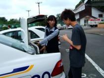 那須自動車学校の指導員による丁寧な指導。わかりやすいと教習生からも評判です♪