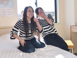 女性専用の宿泊施設は、岡本駅徒歩0分のマンションタイプ! ミニキッチン付きのキレイなお部屋です。日当たりも良くて快適♪