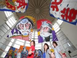 和の心が学べます♪ 白根は300年の歴史を持つ、24畳もの大凧の綱をからめて引き合い、相手の綱を切って勝敗を決する「白根大凧合戦」が有名です。手作りの大凧を見上げるとそこには匠の心意気が感じられます。日本最高!