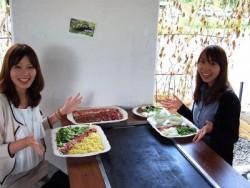 コシヒカリで有名な南魚沼市にある越後湯沢六日町自動車学校。大自然に囲まれての食事は最高!キレイな環境でワイワイ楽しくお食事すると、美味しさ倍増ですね♪