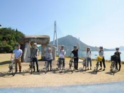 サイクリングの聖地ともいわれている尾道で、素敵な風を受けながら自然豊かな景色を堪能できますよ!