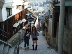 備南教習所周辺には、「崖の上のポニョ」のモデルとなった鞆の浦など、さまざまな観光名所があります!教習の間に、小旅行が楽しめちゃうんです。