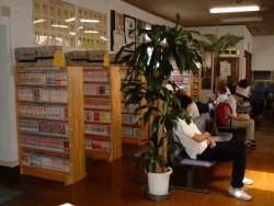 気分転換に・・・将棋・オセロを楽しめるスペースがあったり、インターネットも使いたい放題です。ミニシアターもあり、空いた時間もみんなであっという間に過ごせてしまいます。コミックはなんと3000冊完備!!